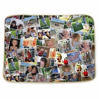 Photo collage changing mat UK