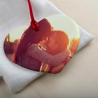 Valentines Day Photo Ornament