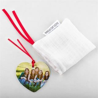 valentines ornament drawstring pouch