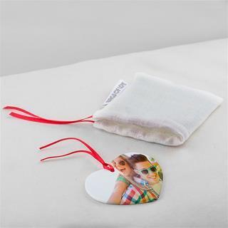 regalo romantico cuore ceramica personalizzata