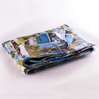 serviette de plage imprimée