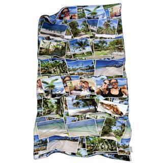 Custom Beach Towel Collage