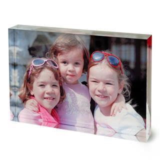 printed photo acrylic block