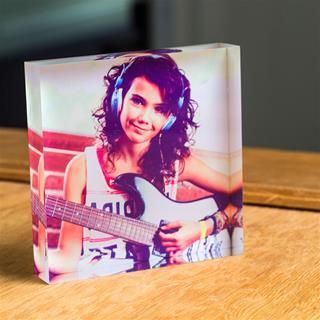 stampa cornice acrilica quadrata