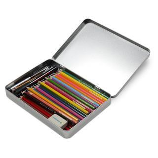 boite à crayon imprimée originale