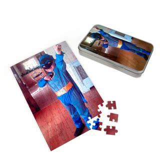 kids personalised superman jigsaw puzzle