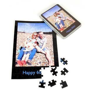 Puzzle mit Foto und Text bedrucken lassen