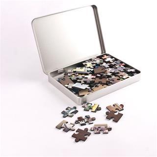 Puzzle bedrucken lassen mit Box