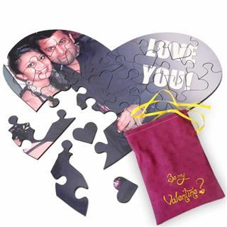 Personalised Jigsaw love