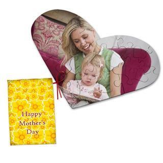 puzzle cuore personalizzato festa della mamma