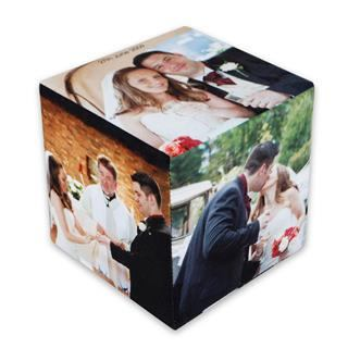 cubo personalizzato con foto