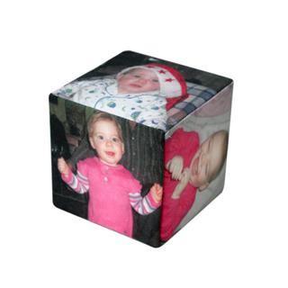 custom photo cube