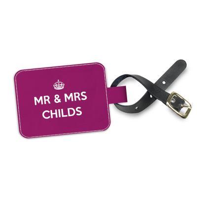 Mr & Mrs Adressanhänger