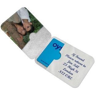 designer oyster card holder