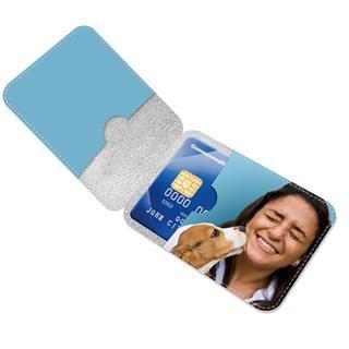 stampa foto su porta carte di credito