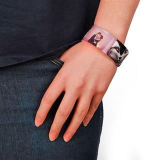 personalised friendship bracelet on model