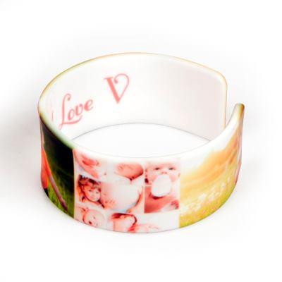 armband mit foto bedrucken