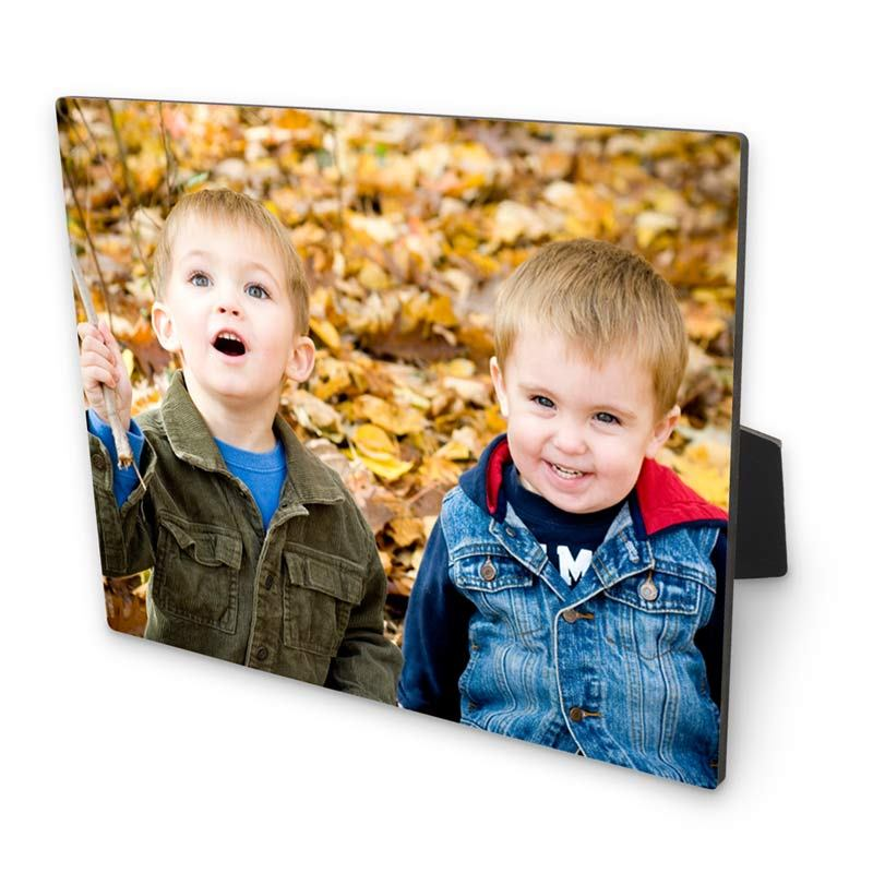 Wooden Photo Blocks. Table Top Photo Panel - Bags Of Love