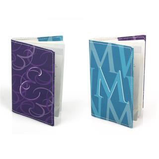 personalised mr and mrs passport cover