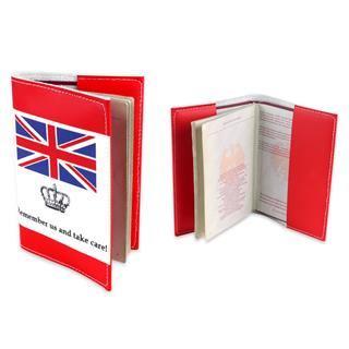 paspoort hoes binnenkant vlag
