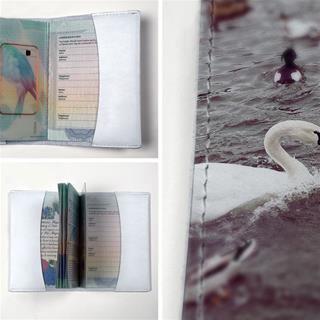 printed passport holder