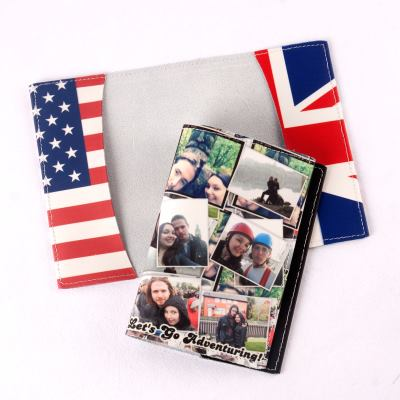 Passport Case Collage