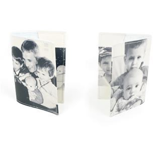 paspoorthoes foto zwart/wit