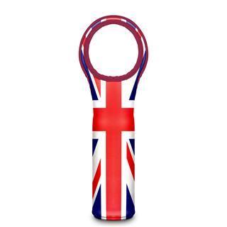 portabottiglie termico personalizzato con bandiera inglese