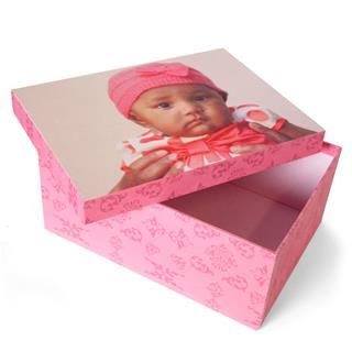 toddler keepsake photo box handmade