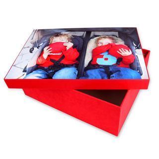stampa scatola con foto