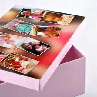 custom photo keepsake box
