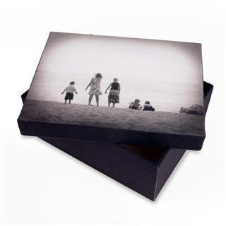 scatola con foto online
