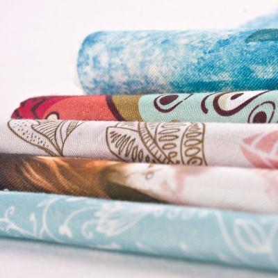 Impresión en algodón natural