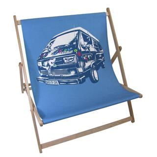double deck chair with van pop art