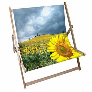 sun flower deck chair