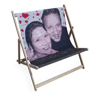 pop art double deckchair
