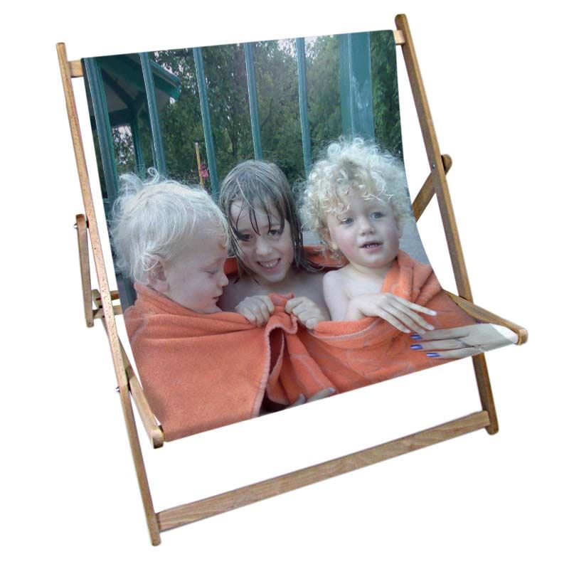 childrens personalised double deck chair