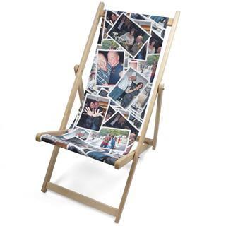 custom photo deck chair