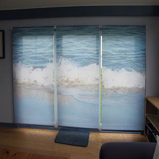 Customized Roller Blinds Ocean