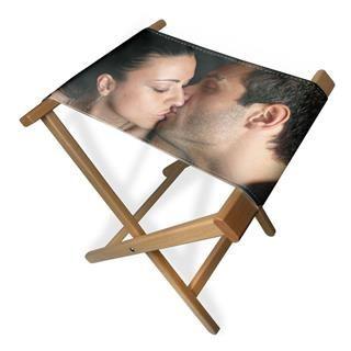 sgabelli personalizzati romantici