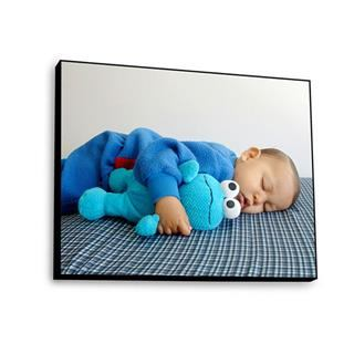 sleeping baby photo plaque
