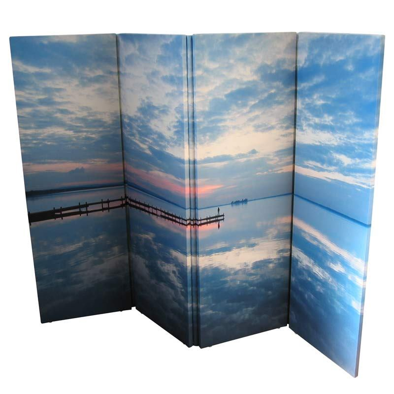 Folding Screens Personalised Photo Room Divider