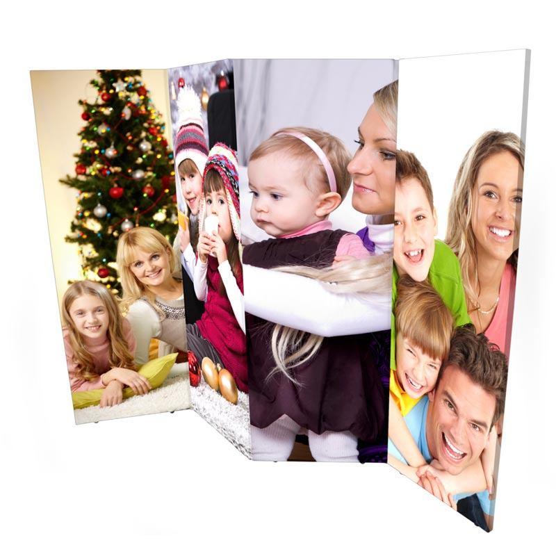 Foto paravent bedrucken mit eigenen fotos foto raumteiler - Paravent selbst gestalten ...