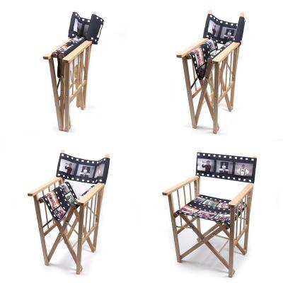 Chaise pliante personnalisée