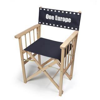 stampa foto su sedia da regista