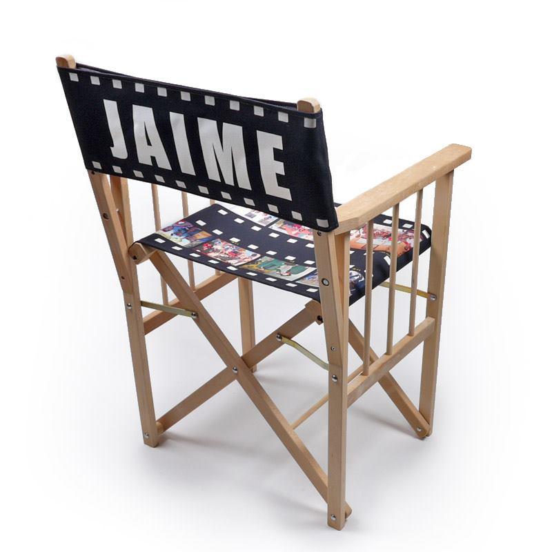 silla de director personalizada con nombre