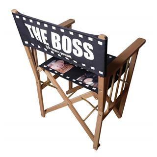 sedia regista personalizzabile