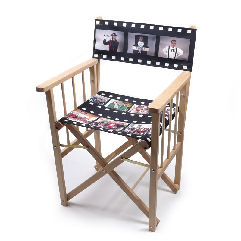 Design Your Own Personalised Directors Chair UK : personalised directors chair film reel 105200l from www.bagsoflove.co.uk size 800 x 800 jpeg 55kB