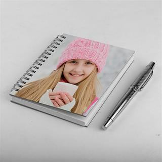 print your photo on notebook cover