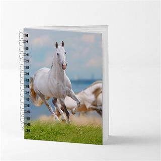 photo horse spiral notebook